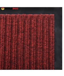 Red PVC Door Mat 90 x 120 cm