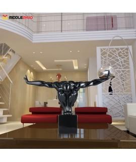 Diver  Fiberglass Sculpture Home Decoration