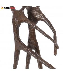 Double dance 2 Modern Dance Bronze Sculpture Metal Sculpture Home Decor Art Gift