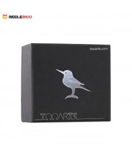 Tiny Bird Gift Glass Ornament Animal Figurine Handblown Home Decor