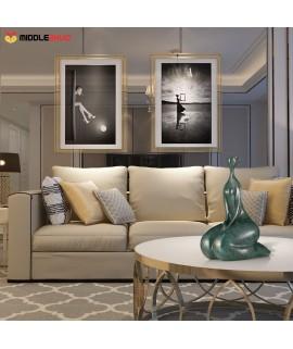 Kneel   Fiberglass Sculpture Home Decoration Original Design