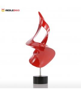 Torch Small Size Modern Sculpture Abstract Sculpture Resin Sculpture
