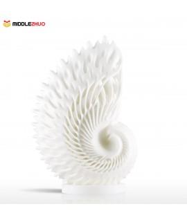 Nautilus 3D Printed Sculpture Home Decoration