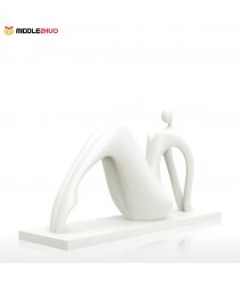 Dance-- On Tiptoe  ?? 3D Printed Sculpture Home Decoration Dancing Posture
