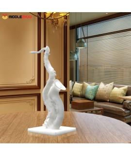 Deformed Saxophone   3D Printed Sculpture Home Decoration Exaggerative Model