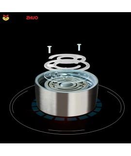 500ml Intelligent Portable Hydrogen Rich Water Maker Ionizer Generator Anti Aging Water Bottle Colorful Light