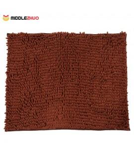 50*60cm Super Soft Chenille Yarn Footcloth Highly Absorbent Carpet Non-skid Door Mat Ground Mat Floor Mat for Indoor Entranceway