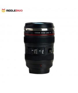 DIY Stainless Steel Vacuum Flasks Travel Coffee Mug Camera Lens Cup