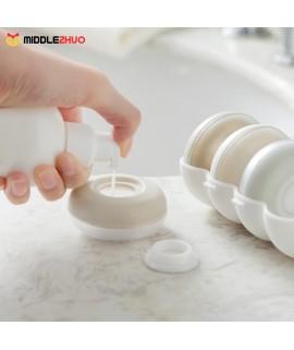 4pcs Portable Mini Cream Jars Bottle